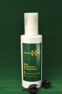 Gel limpiador purificante de Farmacia Romero
